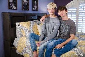 Caleb Gray and Aaron Roberts 12