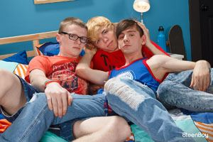 Jamie Ray, Jimmy Andrews and Caleb Gray 12