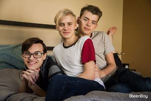 Dustin Cook, Adam Hunt and Ethan Helms 12