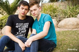 Nicholas Romero and Spencer Locke 12
