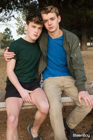 Ethan Helms and Hunter Graham 12