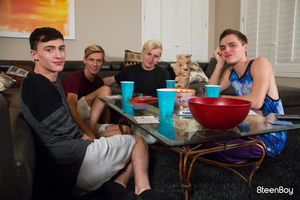 Julian Bell, Adam Hunt, Tristan Adler and Kurt Niles 12