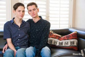 Trevor Harris and Riley Finch 12