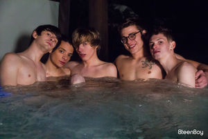 Blake Mitchell, Trevor Harris, Jamie Ray, Caleb Gray, Julian Bell, Milo Harper, Taylor Coleman and Riley Finch 12