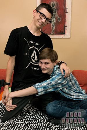 Young gay boys Bryce Christiansen and Cameron Hilander make an adorable teen twink couple. 16