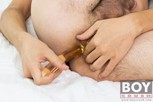 Young boy Connor Jobs has a very eager little ass that needs some attention when he is jerking off 3