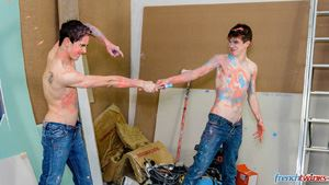 French Twinks Abel Lacourt and Paul Delay 12