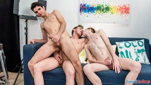 Enzo Lemercier, Celian Meyer and Thomas Leconte 21