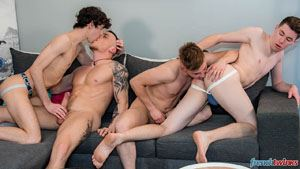 Gabriel Lambert, Paul Delay, Chris Loan and Enzo Lemercier 13