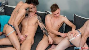 Gabriel Lambert, Paul Delay, Chris Loan and Enzo Lemercier 14