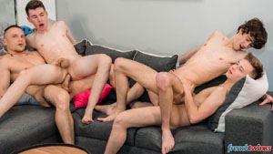 Gabriel Lambert, Paul Delay, Chris Loan and Enzo Lemercier 29