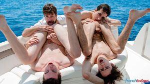 Doryann Marguet, Paul Delay, Jules Laroche and Gabriel Lambert 6