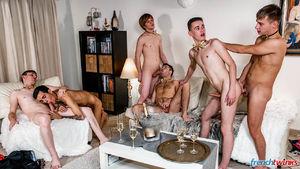 Ethan Duval, Doryann Marguet, Lucas Bouvier, Alexis Tivoli, Enzo Lemercier and Justin Leroy 13