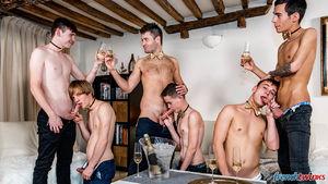Ethan Duval, Doryann Marguet, Lucas Bouvier, Alexis Tivoli, Enzo Lemercier and Justin Leroy 23