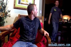 A Romantic Fuck For Fit Lovers - Young Beddable Boys look perfect together, watch this horny fireside fuck!