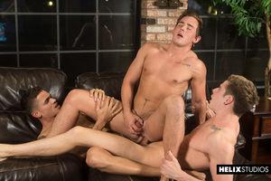 Travis Stevens, Josh Brady and Ashton Summers 11