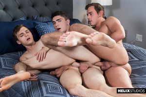 Josh Brady, Tristan Adler and Ashtin Bates 7