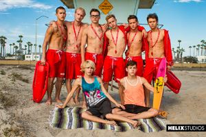Helix Boys Max Carter, Kyle Ross, Tyler Hill, Blake Mitchell, Noah White, Sean Ford and Joey Mills 21