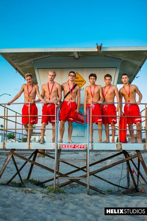Helix Boys Max Carter, Kyle Ross, Tyler Hill, Blake Mitchell, Noah White, Sean Ford and Joey Mills 64