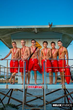 Helix Boys Max Carter, Kyle Ross, Tyler Hill, Blake Mitchell, Noah White, Sean Ford and Joey Mills 65