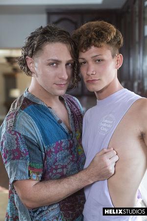 Calvin Banks and Hayden Lee 12
