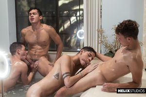 Andy Taylor, Aiden Garcia, Ashton Summers and Hayden Lee 12