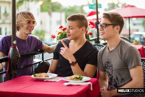 Kyle Ross, Blake Mitchell and Corbin Colby 1