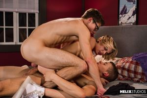 Kyle Ross, Blake Mitchell and Corbin Colby 22