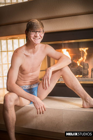 Chris Peyton sizzles in front of a blazing hot fire 16