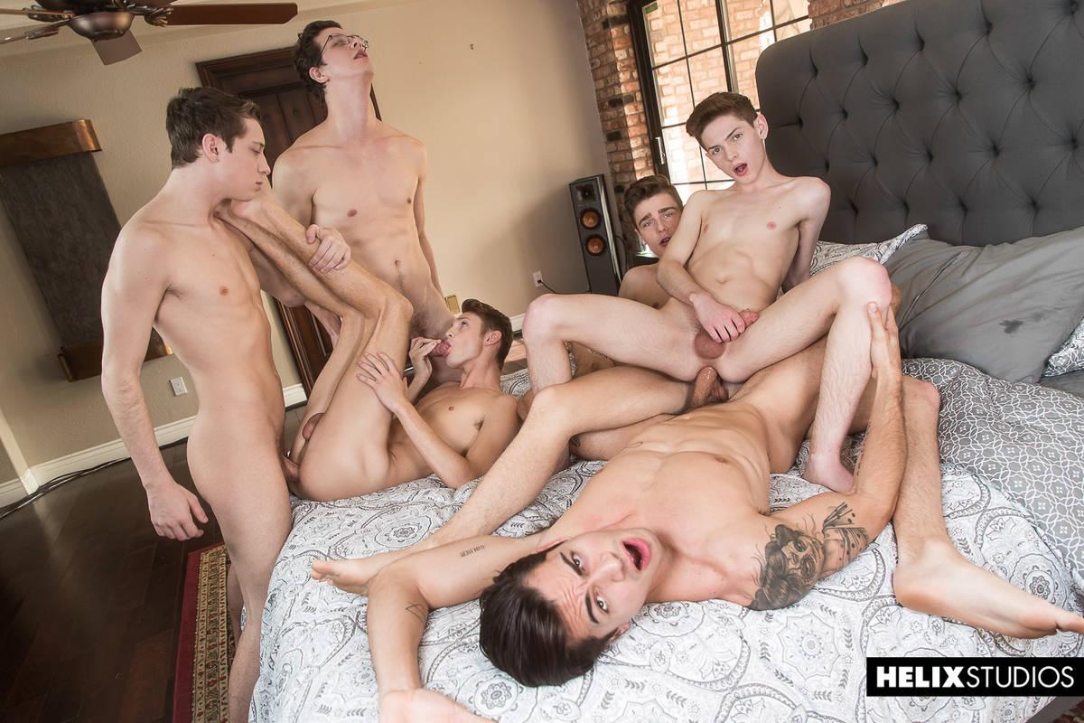 Inside Helix - The Orgy - Travis Stevens, Ashton Summers, Johnny Hands, Riley Finch, Jacob Hansen and Garrett Kinsley