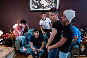 Alejo Smith, Fabrice Rossi, Felix Harris, Francis Gerard, Sly Conan, Sonny Davon 6