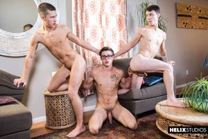 Zach Taylor, Blake Mitchell and Sean Ford 17