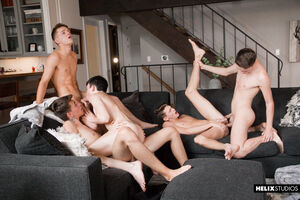 Jacob Hansen, Brian Gibson, Garrett Kinsley, Jace Myers and Devin Holt 1