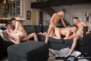 Jacob Hansen, Brian Gibson, Garrett Kinsley, Jace Myers and Devin Holt 16
