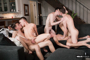 Jacob Hansen, Brian Gibson, Garrett Kinsley, Jace Myers and Devin Holt 18