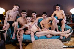 Daryl Briggs, Fabrice Rossi, Felix Harris, Sly Conan, Sonny Davon and Jonas Cabello 2