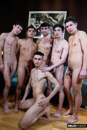 Daryl Briggs, Fabrice Rossi, Felix Harris, Sly Conan, Sonny Davon and Jonas Cabello 8
