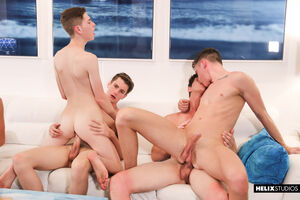 Travis Stevens, Trevor Harris, Johnny Hands, Riley Finch, Chase Williams and Keagan Case 8