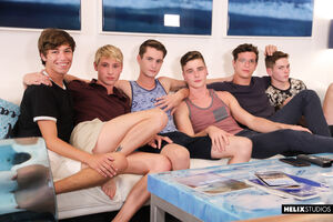 Travis Stevens, Trevor Harris, Johnny Hands, Riley Finch, Chase Williams and Keagan Case 11