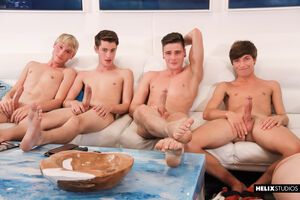 Travis Stevens, Trevor Harris, Johnny Hands, Riley Finch, Chase Williams and Keagan Case 15