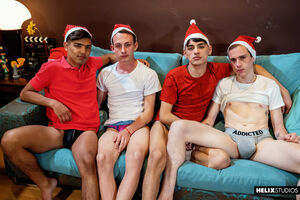 Sexy guys from Helix Latinos want to continue the party 2