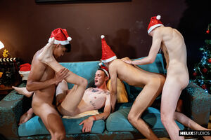 Sexy guys from Helix Latinos want to continue the party 5