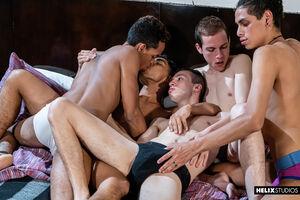 Giorgio Angelo, Mark Wolf, Felix Harris,Tommy Ameal and Cesar Rose 2