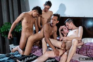 Giorgio Angelo, Mark Wolf, Felix Harris,Tommy Ameal and Cesar Rose 3