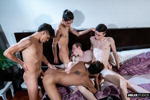 Giorgio Angelo, Mark Wolf, Felix Harris,Tommy Ameal and Cesar Rose 4
