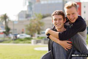 Evan Parker and Noah White 34
