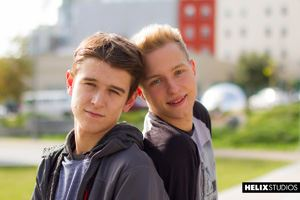 Evan Parker and Noah White 41