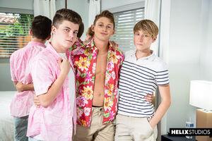 Chase Williams, Garrett Kinsley, Silas Brooks 2