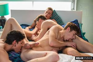Helix Boys Blake Mitchell, Brad Chase, Aiden Garcia and Joey Mills 2