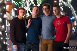 Blake Mitchell, Logan Cross, Colton James and Sean Ford 12